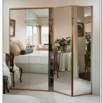 Glass door dresser cabinet storage idea