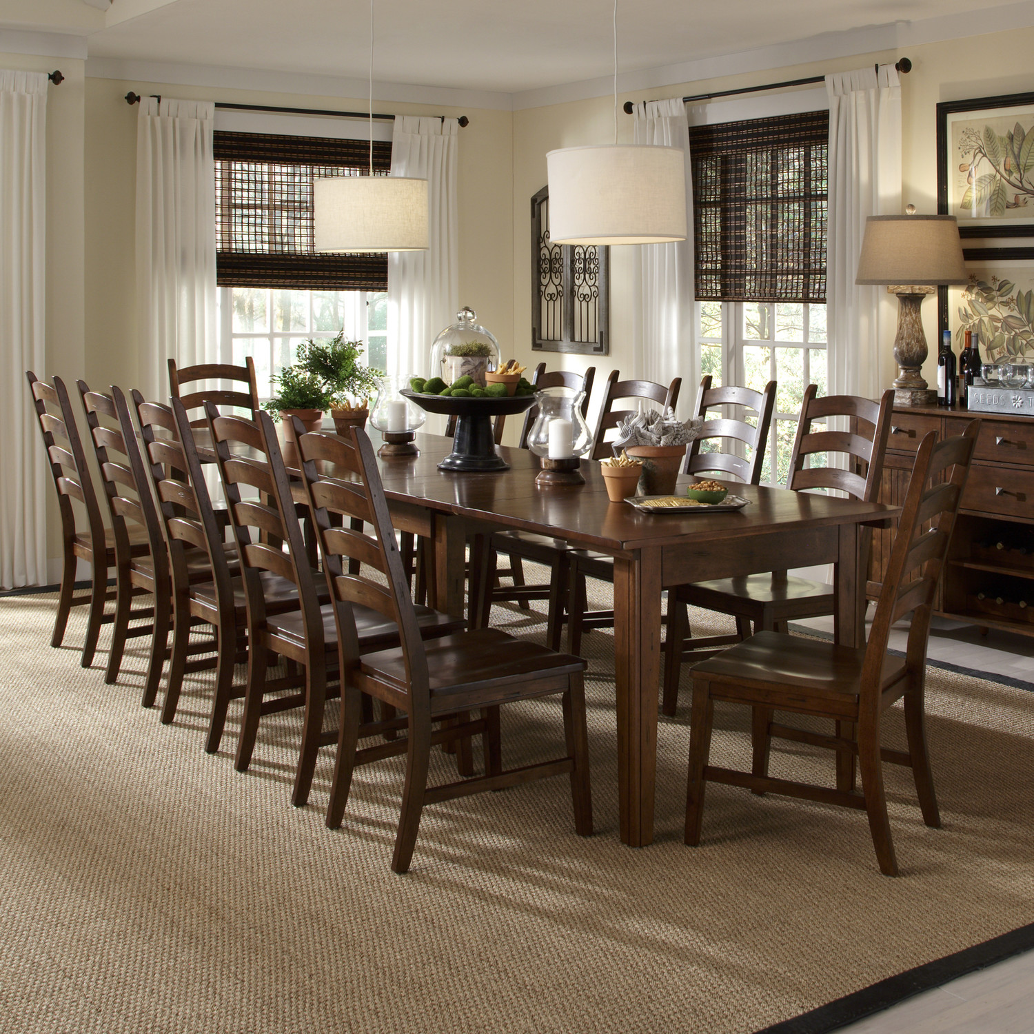 dining room sets with bench 11 piece dining room set homesfeed 504