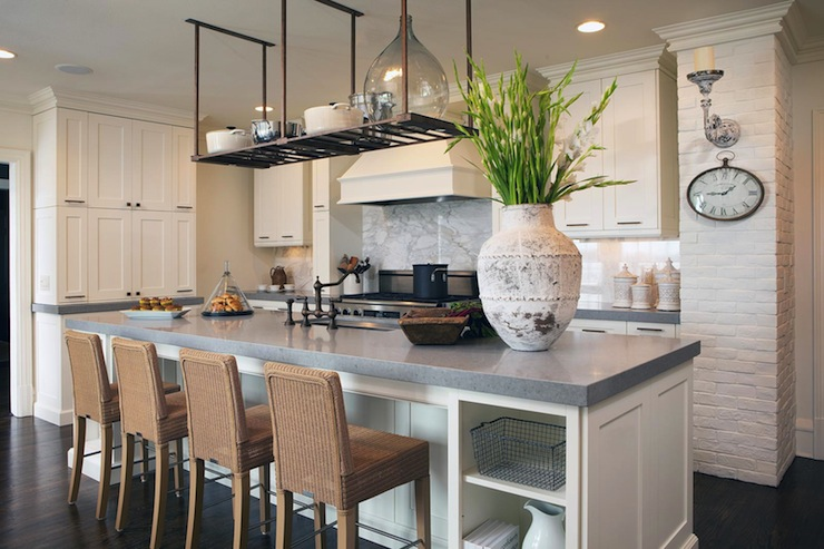 Fabulous Grey Quartz Countertops For Kitchens Homesfeed Download Free Architecture Designs Meptaeticmadebymaigaardcom