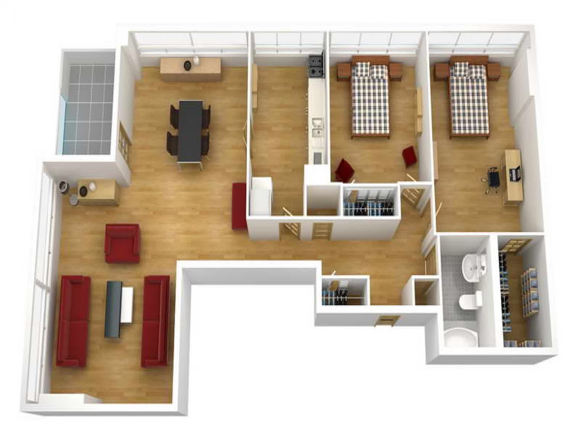 Floor plan drawing software create your own home design for 3d plans online