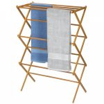 IKEA wooden cloth drying rack product