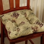 Kitchen Chair Cushions Grapes Design Style