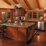 Kitchen design in mission style