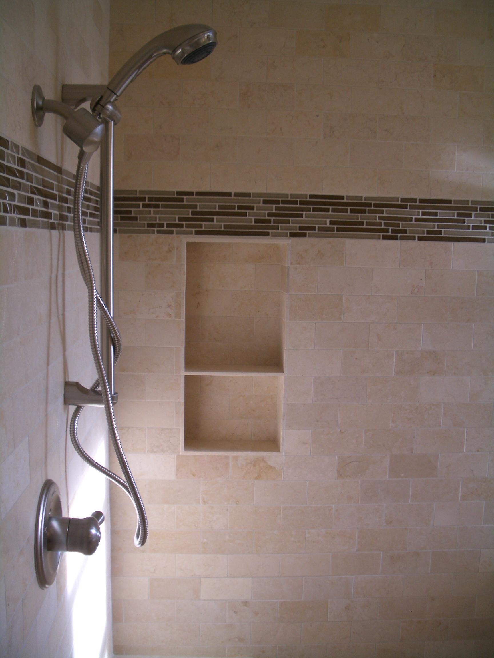 Built In Shower Shelves – HomesFeed