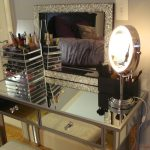 Lights Bright Of Makeup Vanity Table With Mirror