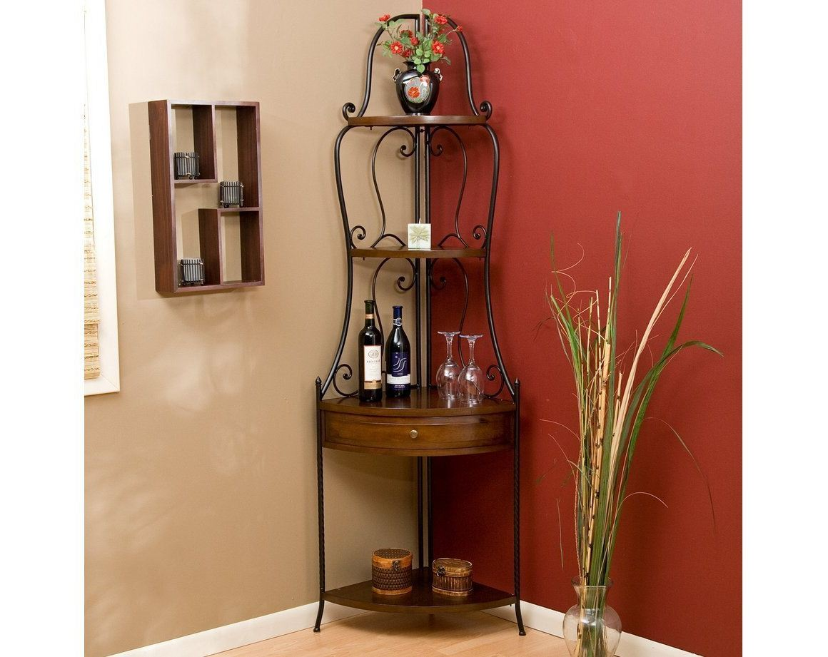 Wrought Iron Corner Shelf Ideas Homesfeed