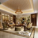 Luxury Furniture With Expensive Things Chandelier Furniture Rug And Cabinet