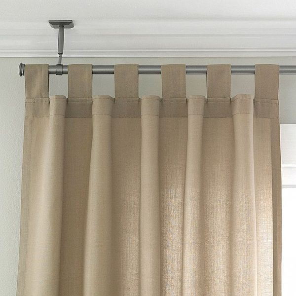 Ceiling Mount Curtain Rod Ideas | HomesFeed