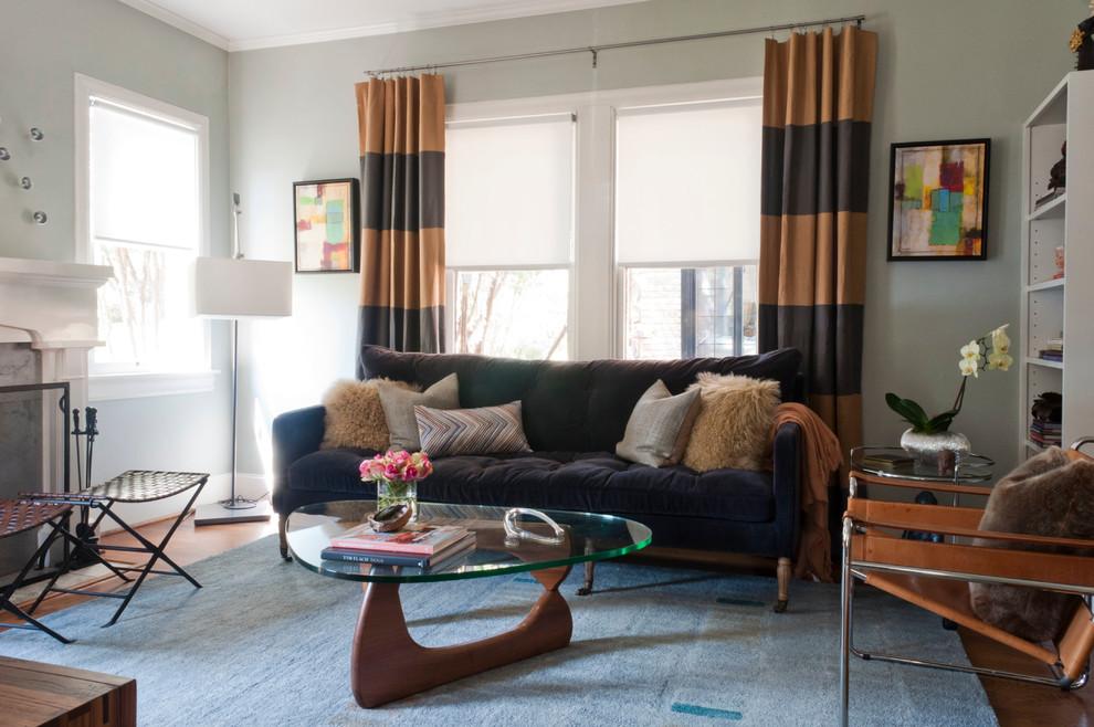 Mid Century Modern Curtains - HomesFeed