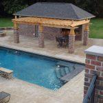 Midwest Rectangular Pool With Gazebo