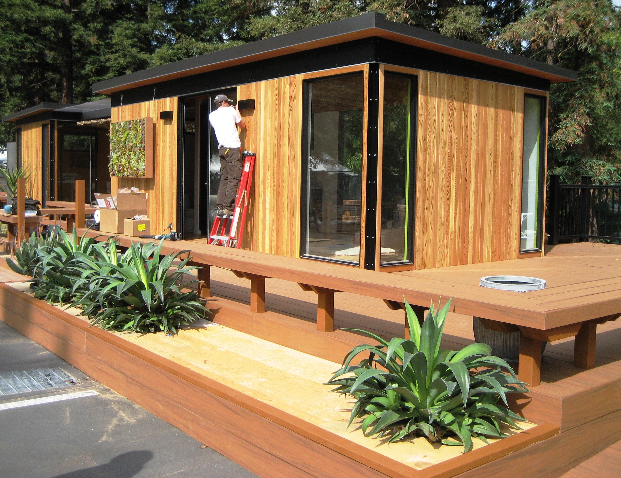 Pool Cabana Kits Design - HomesFeed on Small Pool Cabana Ideas id=75130