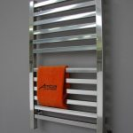 Modern and elegant metal wire towel warmer by Artos