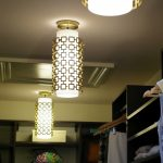 Modern pendant lamps for closet