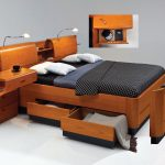 Multifunctional Furniture Of Bed With Shelfs Desk And Cabinet