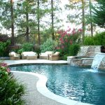 Natural Backyard Landscaping Ideas With Outdoor Sofa
