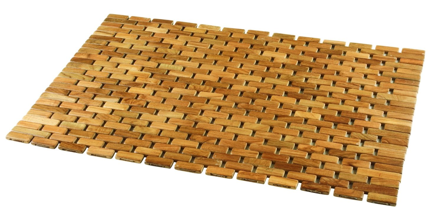 Shower floor liners gurus floor for Wood floor mat