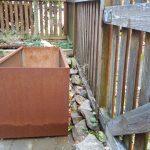 Outdoor Corten Steel Box Planter  Idea