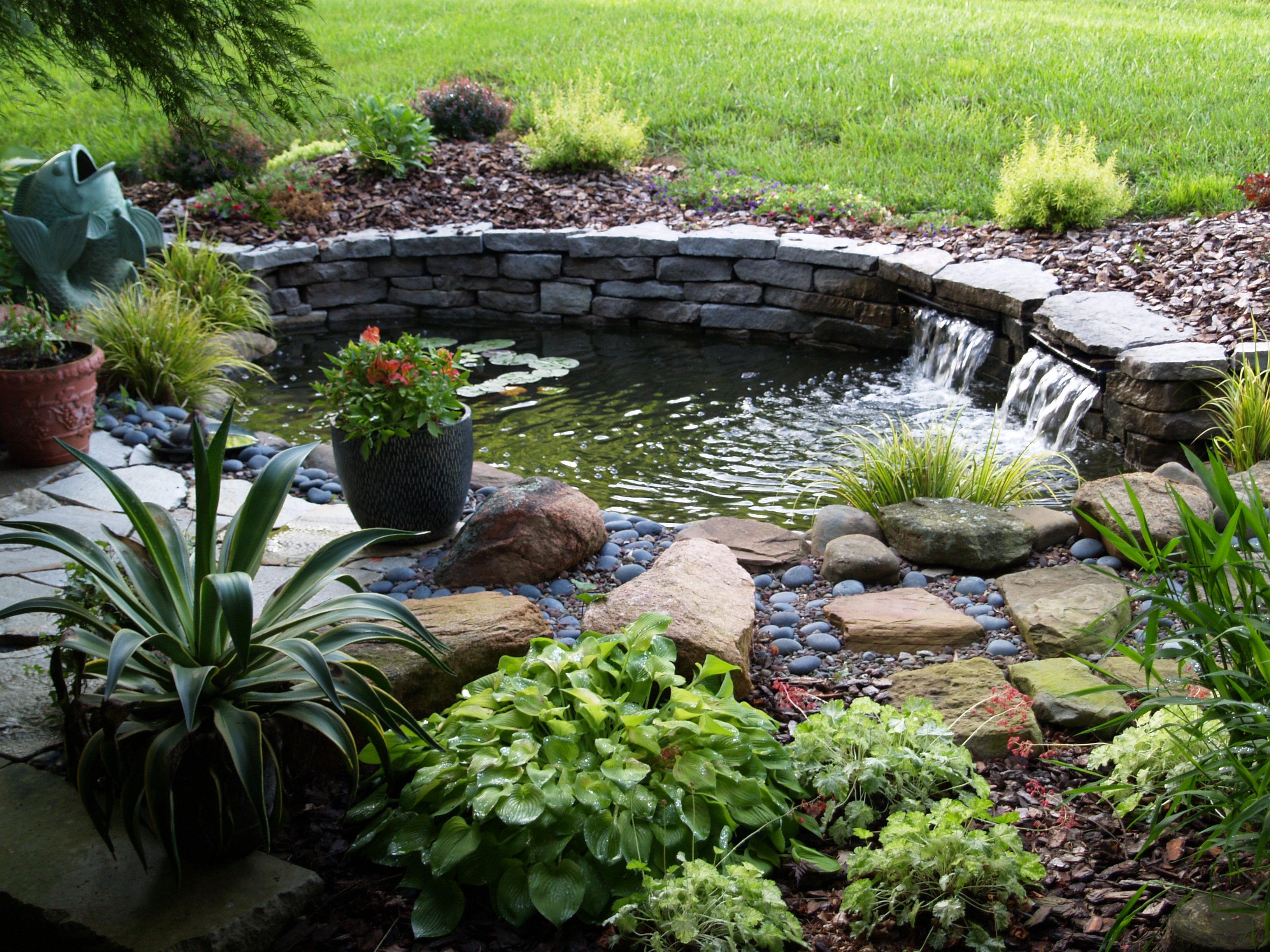 Pool Waterfall Kit Design - HomesFeed on Garden Waterfall Design id=12744