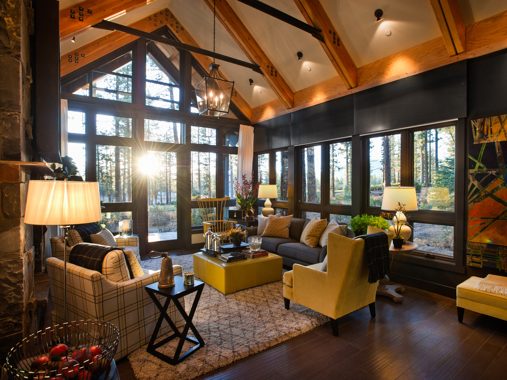 Rustic Living Room Ideas - HomesFeed