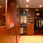 Recessed  lighting fixtures for closet