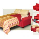 Red loeveseat sleeper design