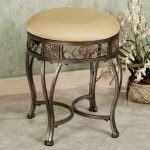 Round And Antique Design Of Vanity Stool
