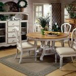 Round White Kitchen Table With Four Chairs Grey Carpet Cabinet With Drawers