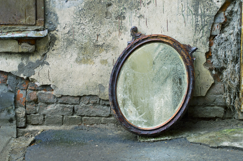 Antique Looking Mirrors Add A Little Classic Touch To