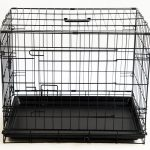 Simple Black Dog Crate