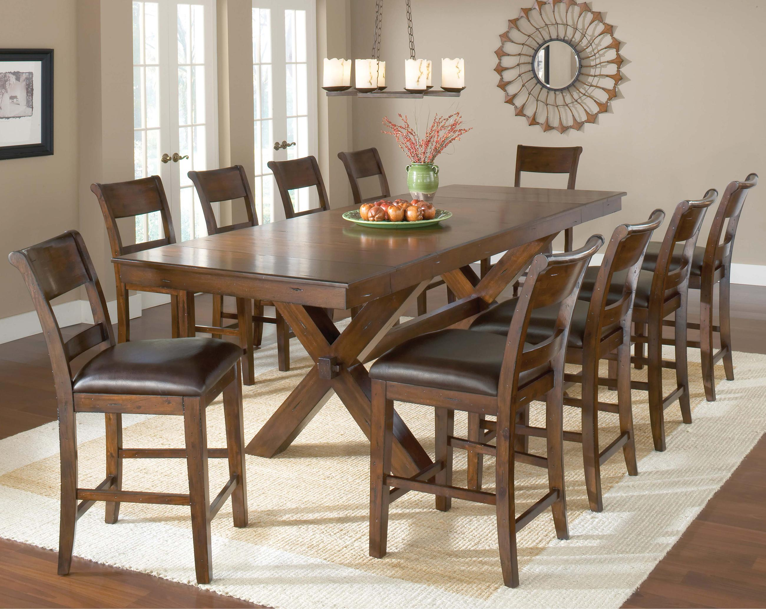 dining room sets with bench 11 piece dining room set homesfeed 3491
