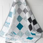 Smooth And Soft Quilt For Baby Boy In Multicolor Scheme