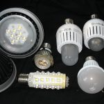 Some variants of LED bulbs in different models and brands