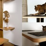Square Cat Habitat: Baobab Modern Cat Tree