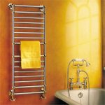 Stainless steel towel warmer design by Artos
