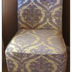 Stylish Damask Accent Chair
