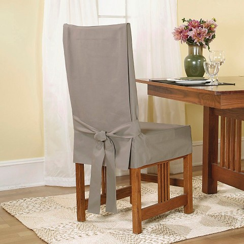 Sure Fit Slipcovers Duck Dining Room Chair Cover