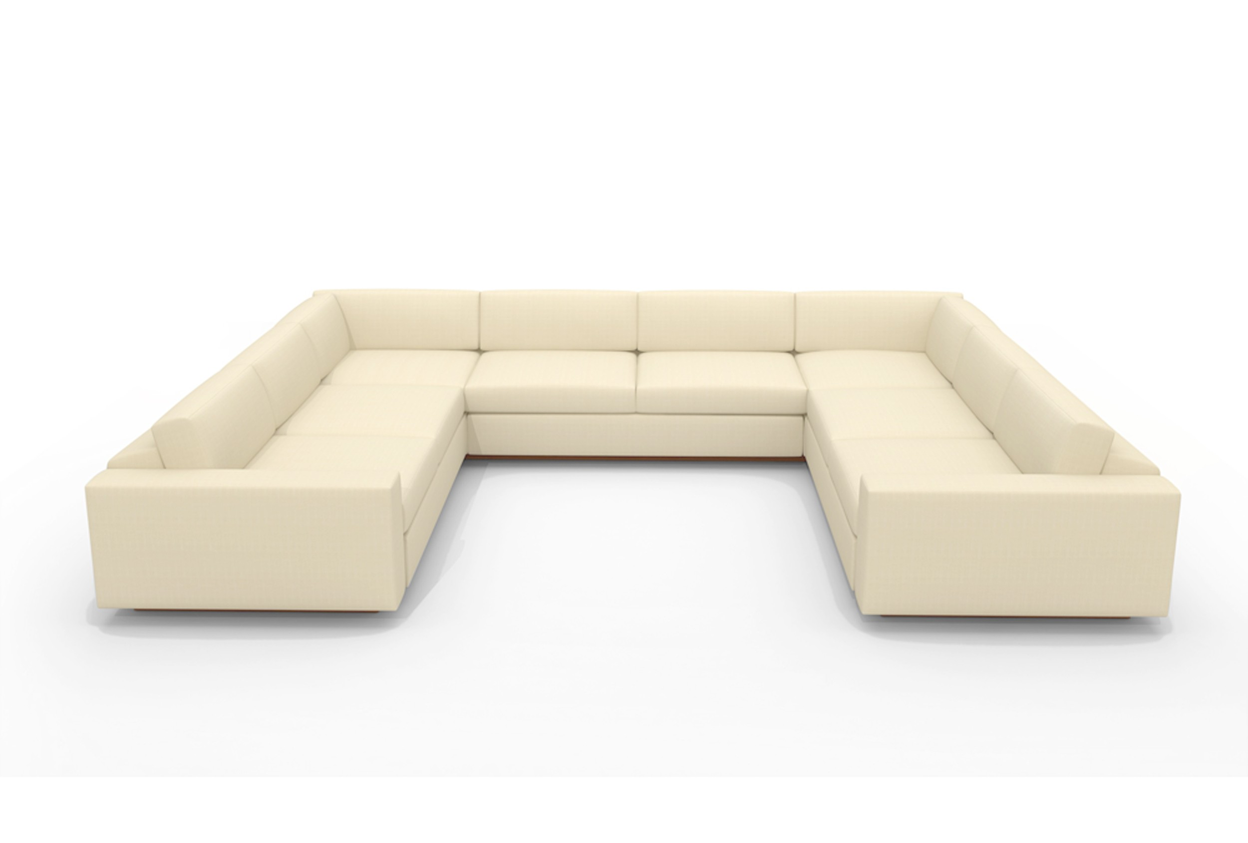 U shaped sectional with chaise design homesfeed for Sectional couch