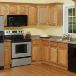 Unfinished wooden cabinet clearance for small kitchen