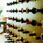 Unique wine rack idea