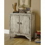 Vintage and distressed cabinet look