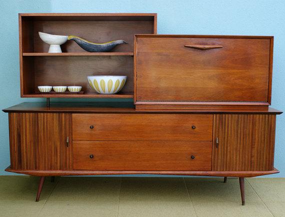 Mid Century Modern Bar Cabinet Ideas - HomesFeed
