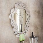 Vintage looking mirror in beautiful frame