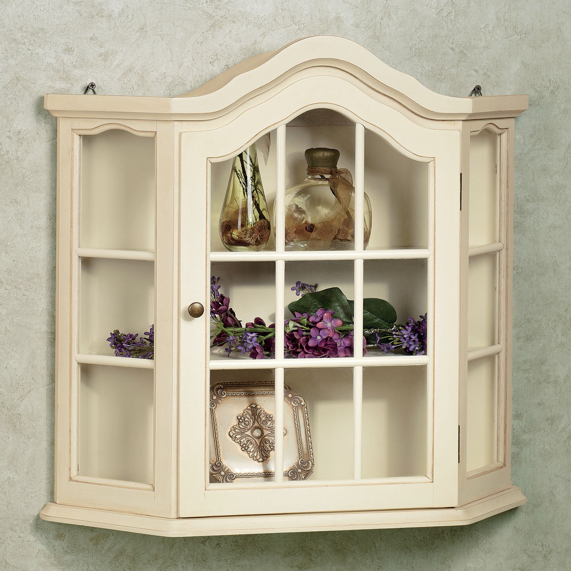 Wall Mounted Curio Cabinet Homesfeed