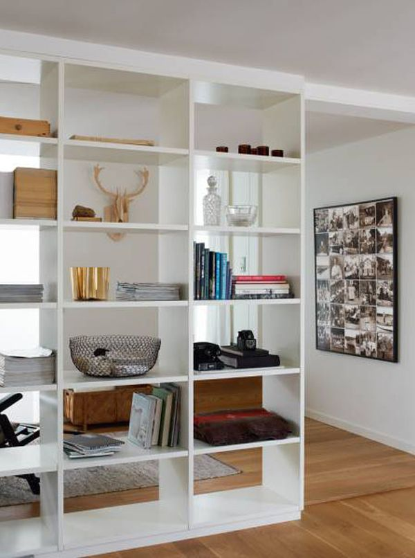 Open Bookcase Room Divider Ideas Homesfeed