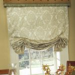 Window Treatments WIth Stylish Curtains Of Kitchen