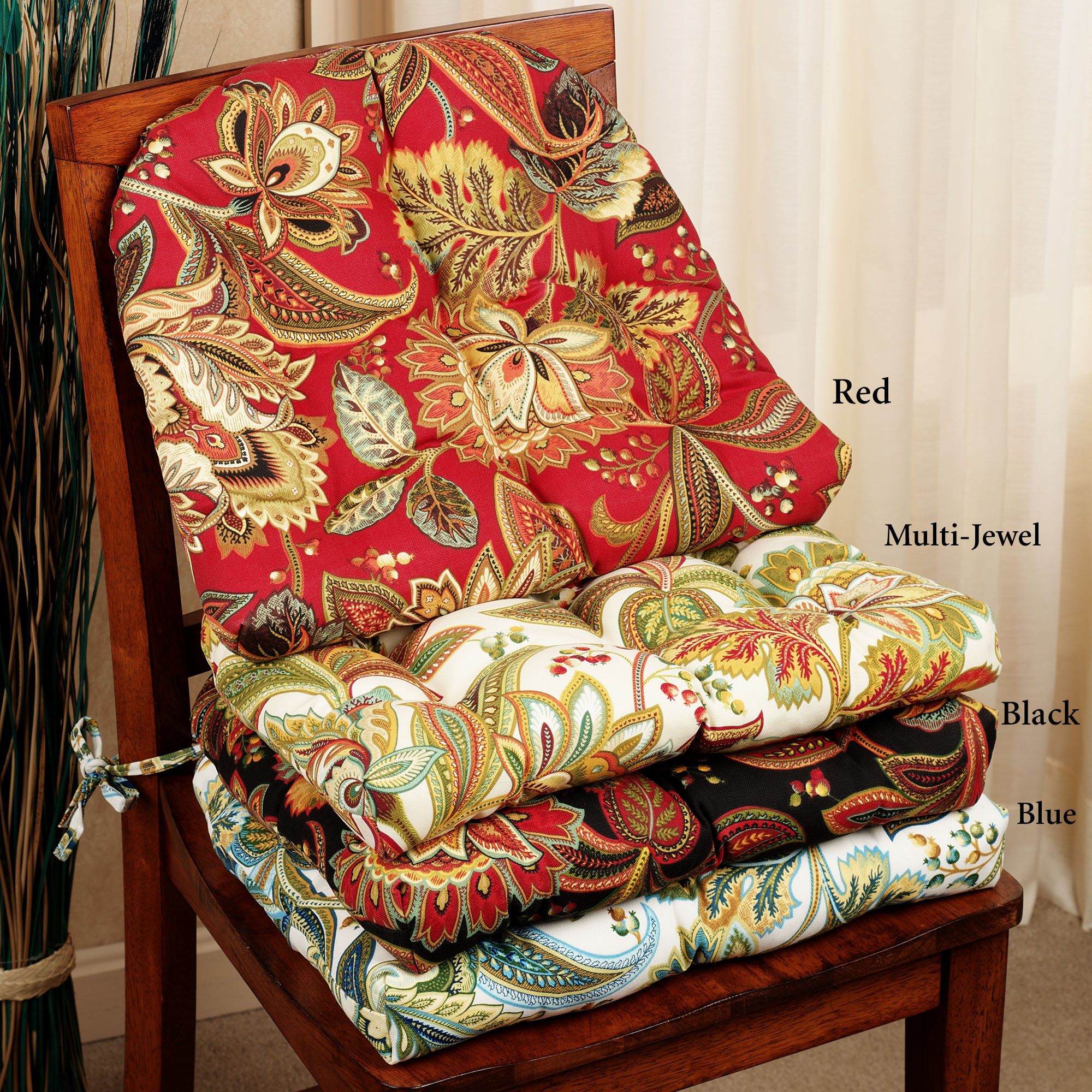 designer kitchen chair cushions kitchen chair cushions with ties homesfeed 773