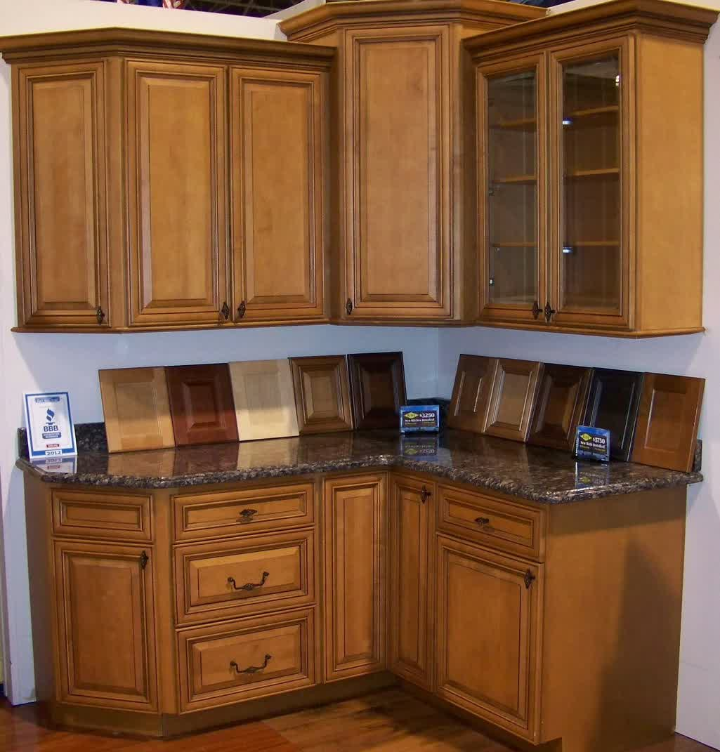 Kitchen Cabinet With Drawers Maple