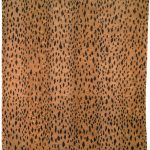 adorable cheetah print rugs that is suitable for living room and bedroom