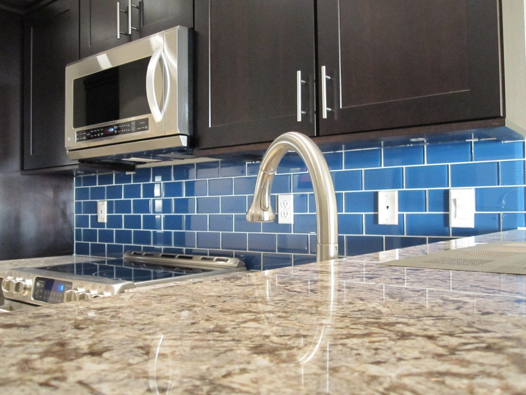 Upgrade Your Monotonous Subway Tile Into A Colored