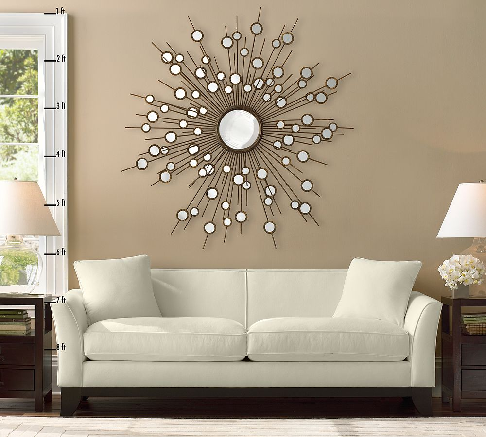 Excellent wall decorating ideas for living room homesfeed - Espejos modernos para comedor ...